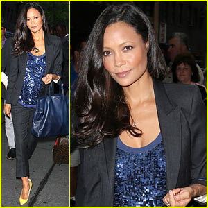 Thandie Newton: Giving Birth Three Times at Home 'Feels Normal'