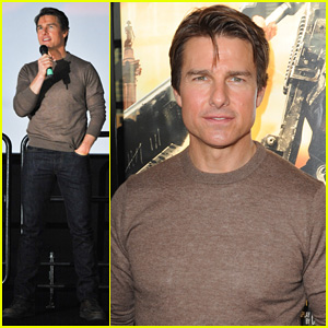 Tom Cruise Dishes on 'Edge Of Tomorrow' Co-Star Emily Blunt: 'She's a Great Actress'