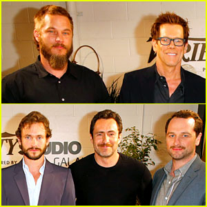 Travis Fimmel & Hugh Dancy Join the Leading Men of Television at Variety Studio