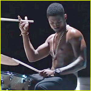 Usher Rocks Out While Shirtless in 'Good Kisser' Video!