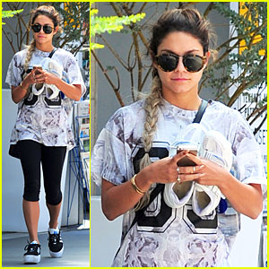 Vanessa Hudgens Definitely Looks Taller with Platform Shoes!