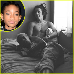 Willow Smith, 13, & Shirtless Moises Arias, 20, Pictured in Bed Together - See the Pic