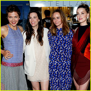 Amber Heard & Maggie Gyllenhaal Make Time for Tea with Stella McCartney!