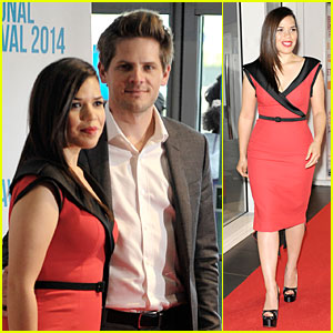 America Ferrera & Ryan Piers Williams Work Together at 'X/Y' Premiere!