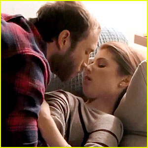 Anna Kendrick Makes Out with Mark Webber in New 'Happy Christmas' Clip (Exclusive)