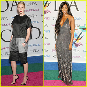 Anne V & Naomi Campbell Bring 'The Face' to CFDA Awards 2014!