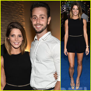 Ashley Greene & Paul Khoury Couple Up for STK Anniversary Party!