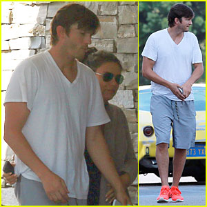 Ashton Kutcher & Mila Kunis Look Closer Than Ever After French Polynesia Vacation!