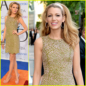 Blake Lively Brings Her Fashion A-Game to CFDA Awards!