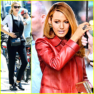 Blake Lively Embraces The Overalls Trend