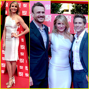 Cameron Diaz & Jason Segel Bring Their 'Sex Tape' to Barcelona!