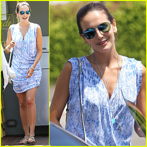 Camilla Belle Cheers on Brazil During World Cup 2014!