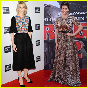 Cate Blanchett & America Ferrera Take 'How to Train Your Dragon 2' to Australia & Los Angeles!