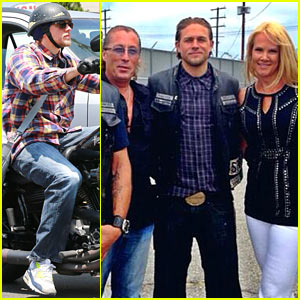 Charlie Hunnam & 'Sons of Anarchy' Cast Are Back Filming New Season, Share Set Pics with Fans!