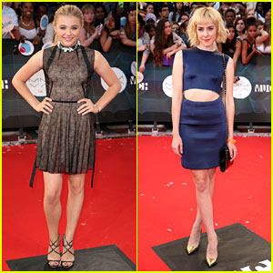 Chloe Moretz & Jena Malone Go Super Chic for MuchMusic Video Awards 2014!