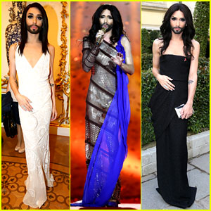Conchita Wurst Wears Five Glam Looks for Life Ball Weekend