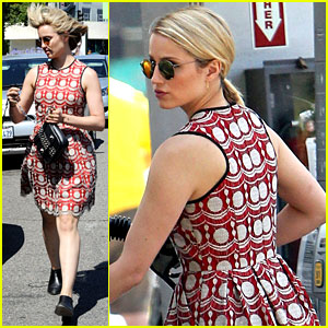 Dianna Agron Doesn't Want Chemicals in Her Hair