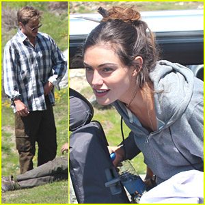 Dominic Sherwood & Phoebe Tonkin: 'Take Down' Filming Starts!