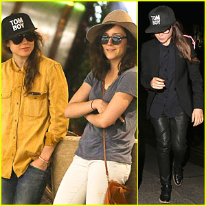 Ellen Page Goes Sunday Shopping with Shannon Woodward!