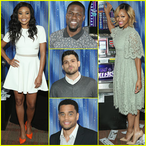 Gabrielle Union & Meagan Good Are Fierce Ladies at 'Think Like A Man Too' Photo Call!