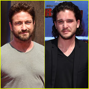Gerard Butler & Kit Harington Are Easy on the Eyes at 'How to Train Your Dragon 2' Premiere