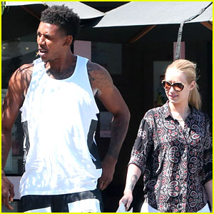 Iggy Azalea & Boyfriend Nick Young Are a Cute Couple at Lunch!