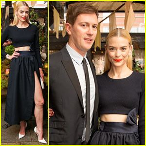 Jaime King Displays Her Beveled Leg at Christian Louboutin Celebration!