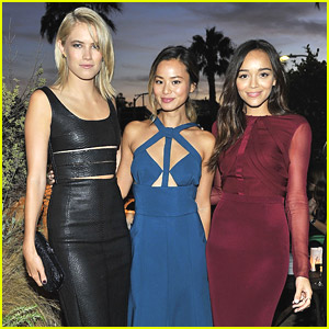 Ashley Madewke, Jamie Chung & Cody Horn Toast Cushnie et Ochs & Forward Collaboration