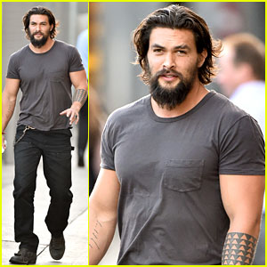 Jason Momoa Gets Grilled Over Aquaman Rumors - Watch Now!