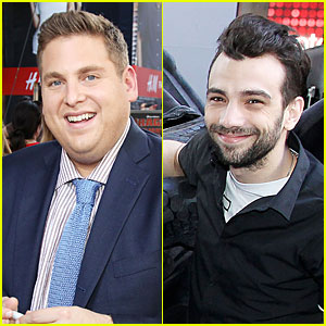 Jonah Hill & Jay Baruchel Gather the Kids For 'How to Train Your Dragon 2'!