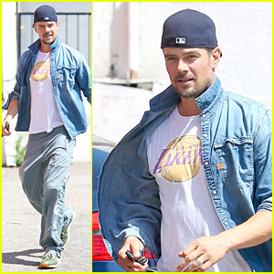 Josh Duhamel Loves Lakers Despite Losing Season!
