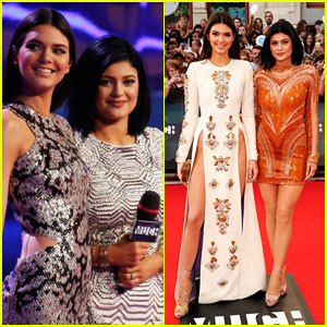 Kendall & Kylie Jenner Host MuchMusic Video Awards 2014 in Style!