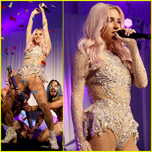 Kesha Brings the House Down During 4 Song Set at Breast Cancer Fundraiser!