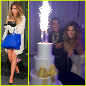 Khloe Kardashian Celebrates 30th Birthday with Boyfriend French Montana & Her Family!