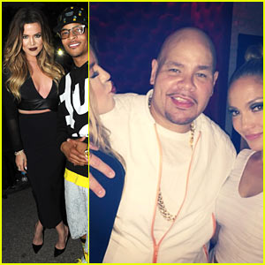 Khloe Kardashian Cheers On Jennifer Lopez at Her Hometown Concert!