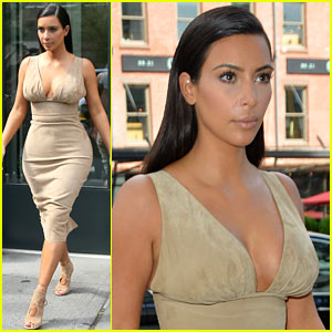 Kim Kardashian Leaves Her Blonde Wig at Home, Steps Out as a Brunette
