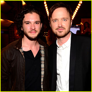 Kit Harington & Aaron Paul Make Us Swoon at Guys' Choice Awards 2014