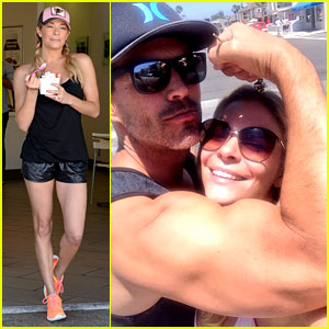 LeAnn Rimes Rests Her Head on Eddie Cibrian's Huge Bicep!