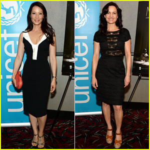 Lucy Liu Premieres Her Directorial Debut 'Meena' in New York City!