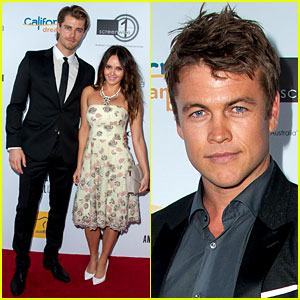 Luke Hemsworth & Luke Mitchell Are Two Hot Aussie Lukes!