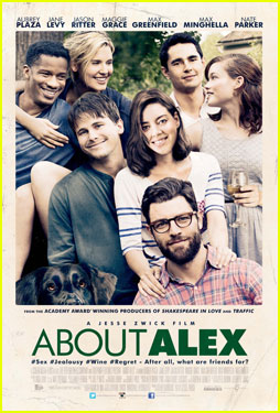 Max Greenfield & Aubrey Plaza's 'About Alex' Gets Poster & Trailer!