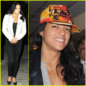 Michelle Rodriguez Asks Fans What Their 'Spiritual Outlet' is!