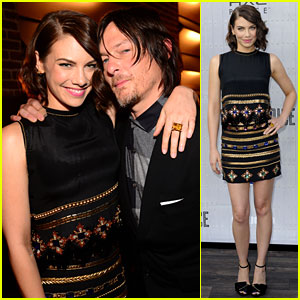 norman reedus and girlfriend
