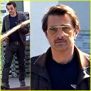 Olivier Martinez Satisfies His Baguette Craving