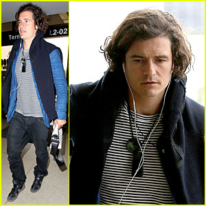 Orlando Bloom Gets Ready to Jet For Tony Awards!