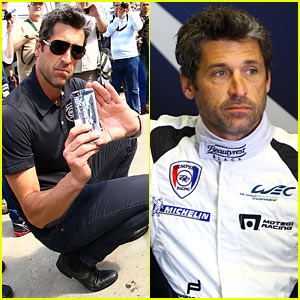 Patrick Dempsey Gets Behind the Wheel of the Porsche 911 at Le Mans!