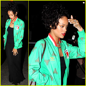Rihanna Heads Out to Dinner After Skipping the BET Awards