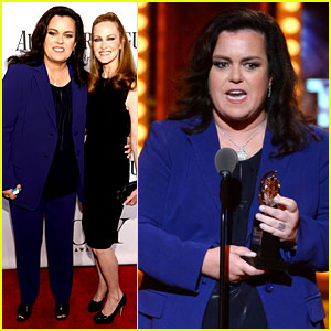 Rosie O'Donnell Receives Special Tony Award - Watch Her Acceptance Speech!
