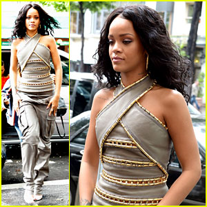 See How Rihanna's Sheer Dress Was Made - Watch the Video!