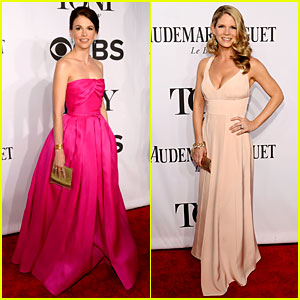 Sutton Foster & Kelli O'Hara Rep Broadway's Leading Ladies at Tony Awards 2014
